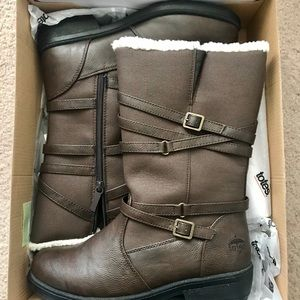 Totes Dana Waterproof Winter Boots Bnib